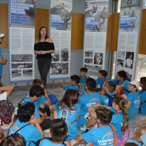 Veria Basketball Camp. Δευτέρα 18 Ιουνίου προπόνηση και Μουσείο ΧΑΝΘ