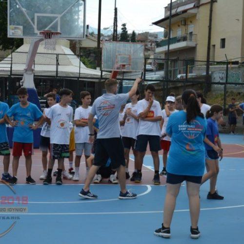 Με προπόνηση και παιχνίδι ολοκληρώθηκε η τέταρτη ημέρα του Veria Basketball Camp 2018