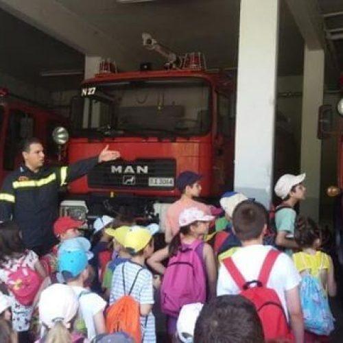 Επίσκεψη των μαθητών των Εργαστηρίων της Βιβλιοθήκης  της ΕΛΠΝ στην Πυροσβεστική