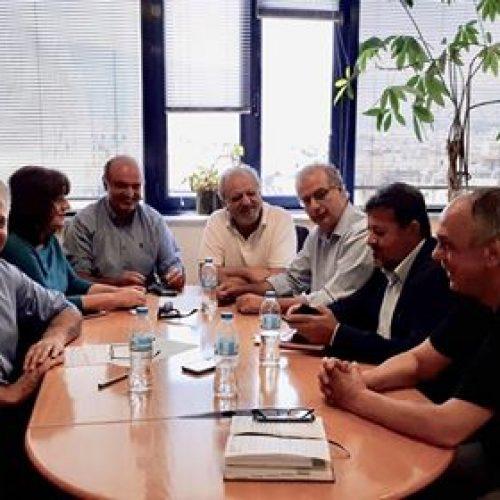 Σύσκεψη  στα κεντρικά γραφεία του ΕΛΓΑ για ζημιές και οφειλόμενα