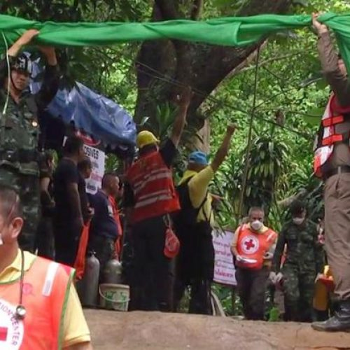 Ταϊλάνδη: Και όγδοο παιδί διασώθηκε από το σπήλαιο - Σε εξέλιξη η επιχείρηση  (photo)