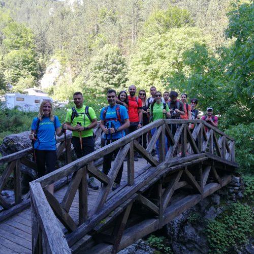Ορειβατικές Εμπειρίες ΣΧΟ Βέροιας - Διάσχιση Φαράγγι Ενιπέα στον  Όλυμπο