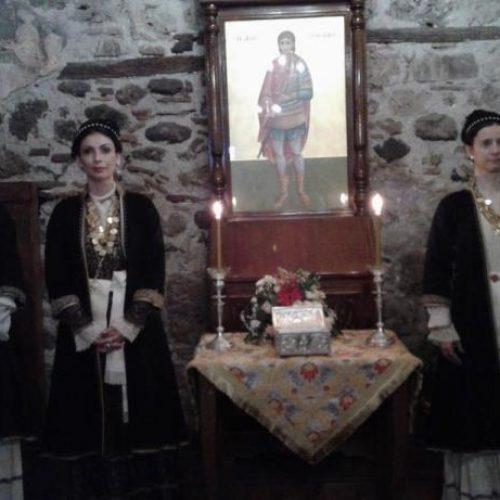 Το Λύκειο  Ελληνίδων Βέροιας στον Άγιο Προκόπιο