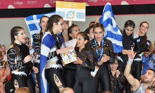 Ρυθμική Γυμναστική:    Ασημένιο μετάλλιο για τα κορίτσια του Φίλιππου σε ευρωπαϊκούς αγώνες στο Βέλγιο
