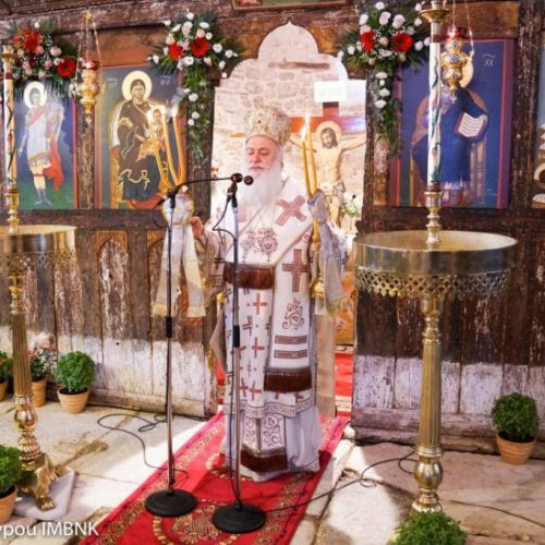 Όρθρος και θεία λειτουργία στο βυζαντινό παρεκκλήσιο του  Αγίου Προκοπίου στη Βέροια, Σάββατο 14 Ιουλίου