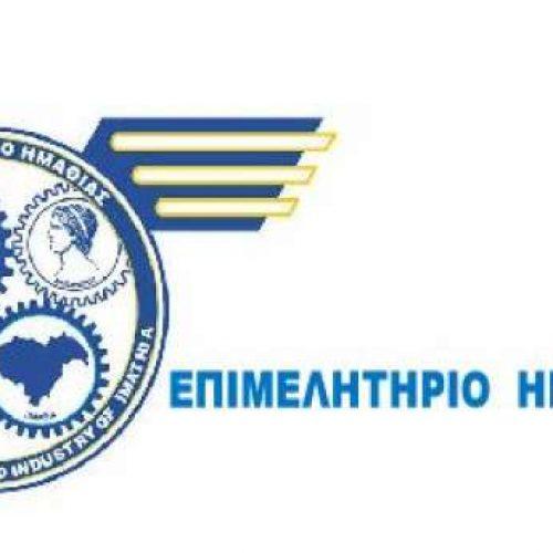 Το Δ.Σ. του Επιμελητηρίου Ημαθίας στηρίξει ομόφωνα το συλλαλητήριο στη Βεργίνα για τη Μακεδονία