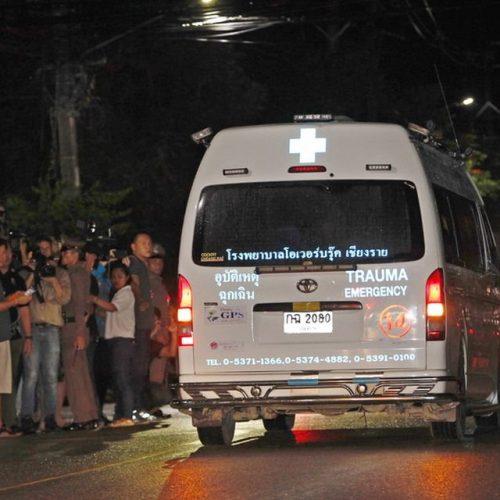 Ταϊλάνδη:  Διασώθηκαν τέσσερα παιδιά  - Τελείωσε για απόψε η επιχείρηση