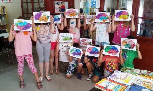 """Καλοκαιρινή Εκστρατεία  2018 στην Δημοτική βιβλιοθήκη """"Θ. Ζωγιοπούλου τον Αύγουστο και Σεπτέμβριο"""