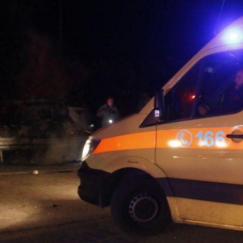 Σοβαρό τροχαίο ατύχημα στην Εθνική Οδό στο ύψος του Μακρυγιάλου
