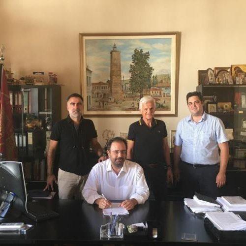 Ξεκινούν   οι εργασίες στη Γέφυρα Κούσιου - Νέα σύμβαση υπέγραψε ο Δήμος Βέροιας