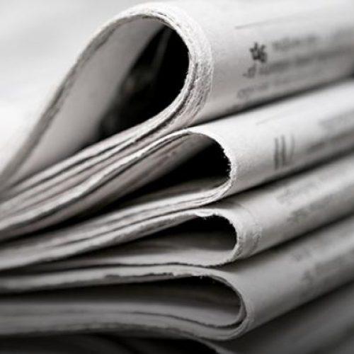 Οι τίτλοι των  εφημερίδων σήμερα