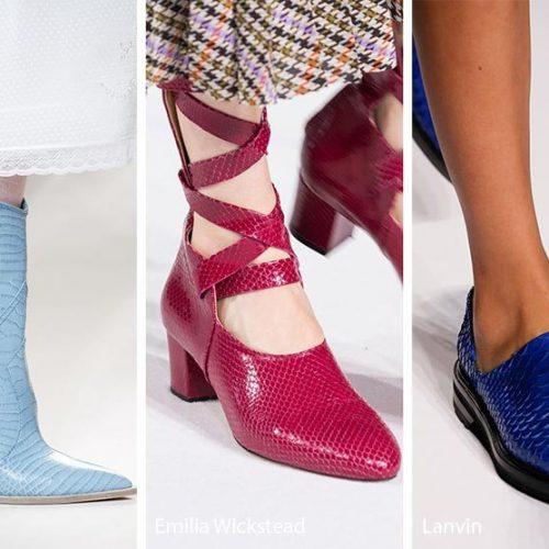 Μόδα: Οι τάσεις στα γυναικεία παπούτσια. Φθινόπωρο -  Χειμώνας  2018 - 2019