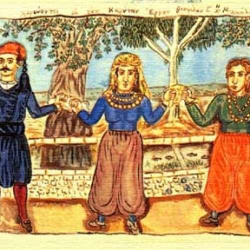 """Η πρώτη συνάντηση   του χορευτικού τμήματος ενηλίκων του """"Προμηθέα"""""""
