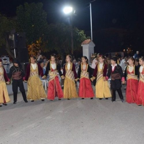"""Πολιτιστικός Σύλλογος Βεργίνας """"Αιγές"""": Από τις καλοκαιρινές δράσεις των χορευτικών τμημάτων"""
