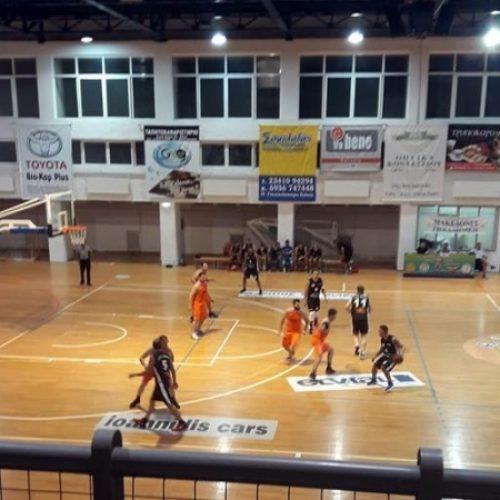Μπάσκετ: Νικηφόρα η πρεμιέρα του Κυπέλλου ΕΚΑΣΚΕΜ για τους Αετούς Βέροιας