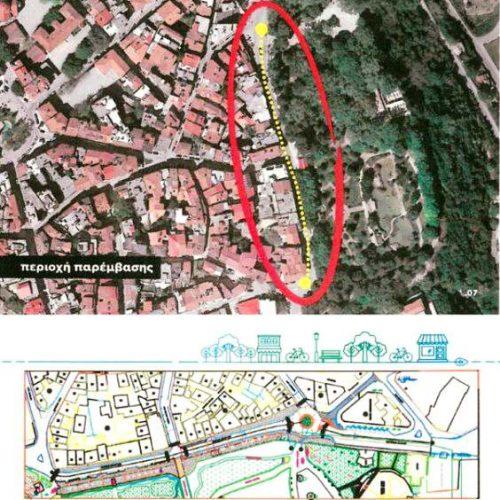 Αναπλάσεις  οδού Μεγάλου Αλεξάνδρου στη Νάουσα