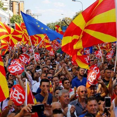 """Στο 35% η συμμετοχή  στο δημοψήφισμα για την """"Συμφωνία των Πρεσπών"""""""
