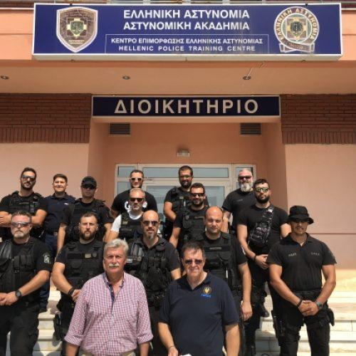 Εκπαίδευση ειδικών ομάδων της Κ. Μακεδονίας με πρωτοβουλία της Ένωσης Αστυνομικών Ημαθίας