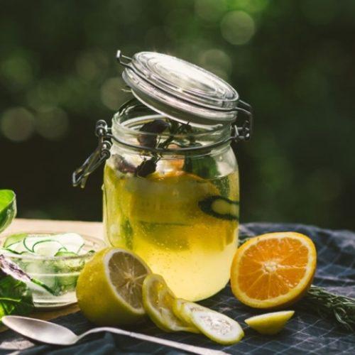 Σπιτική συμπυκνωμένη λεμονάδα