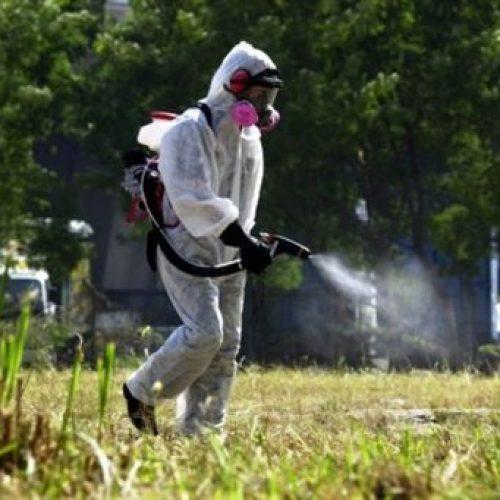 Ψεκασμός      το βράδυ της Τρίτης 18 Σεπτεμβρίου για τα κουνούπια στο Μακροχώρι