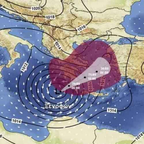 Κίνδυνος πλημμυρικών φαινομένων - Οι τελευταίες προβλέψεις του Αστεροσκοπείου για τον κυκλώνα