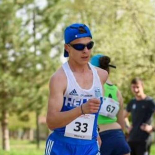 Όγδοος  ο βεροιώτης  Άνθιμος Κελεπούρης στα 5000 μέτρα βάδην στους Ολυμπιακούς Αγώνες Νέων