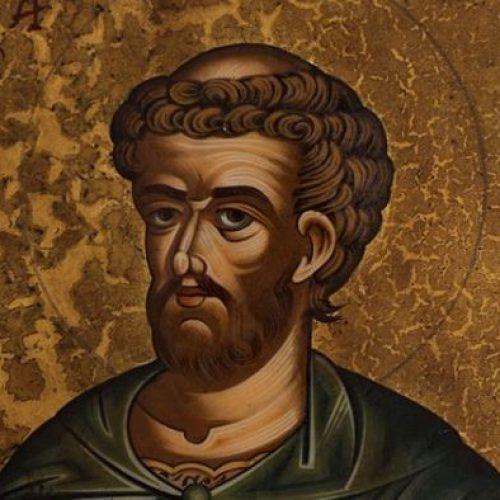 """""""Ο Άγιος Λουκάς ο Ευαγγελιστής""""  δια χειρός Συμεών Ματσκάνη"""