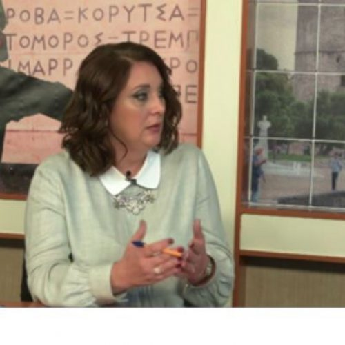 """Η ακτινοδιαγνώστρια του ΚΥ Βέροιας, Βασιλική Καραδήμου, στο κανάλι """"Δίον"""" - """"Στον πόλεμο κατά του καρκίνου του μαστού"""""""