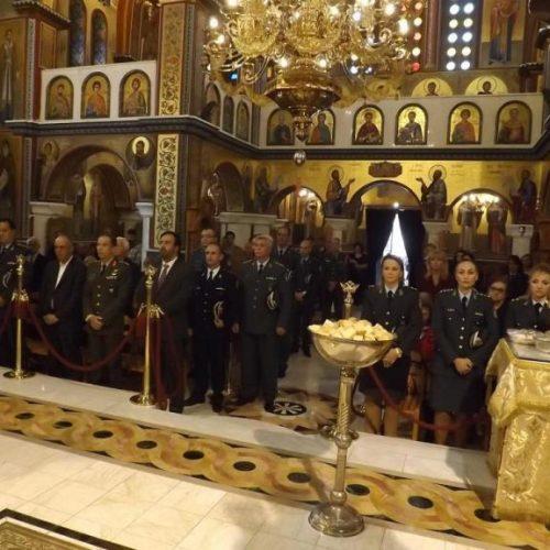 """Εορτάστηκε η """"Ημέρα της Αστυνομίας"""" και του Προστάτη του Σώματος Αγίου Αρτεμίου"""