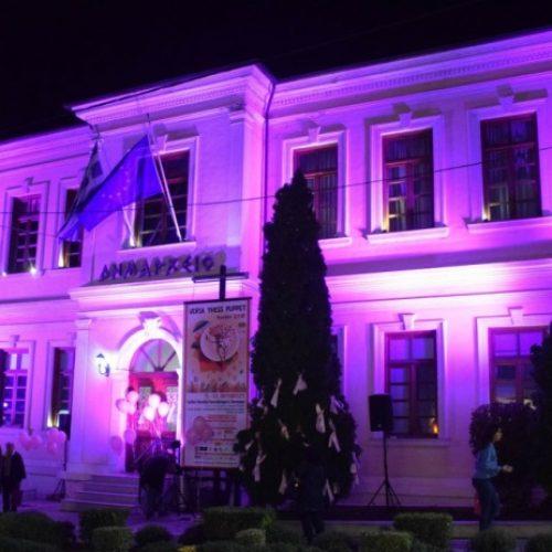 Ο Δήμος Βέροιας συμμετέχει στην εκστρατεία για την πρόληψη του καρκίνου του μαστού