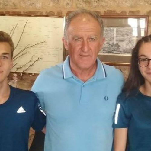 Οι βεροιώτες αθλητές Α. Κελεπούρης  και Ε. Ιωαννίδου     αναχωρούν αύριο για τους Ολυμπιακούς Αγώνες Νέων