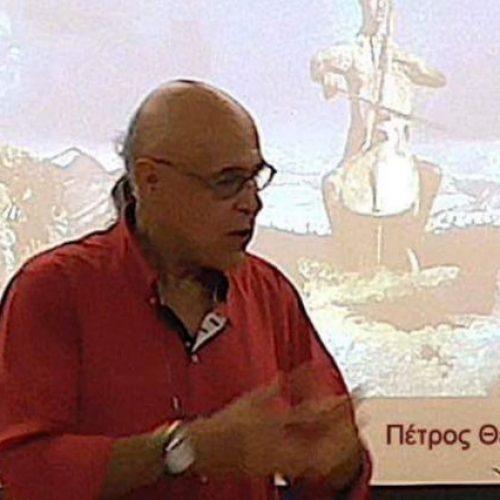 """""""Έρωτας, μια λαμπρή γιορτή σε άδειο παλάτι"""". Ομιλία με τον Πέτρο Θεοδώρου στο  """"εκτός χάρτη"""", Παρασκευή 12 Οκτωβρίου"""