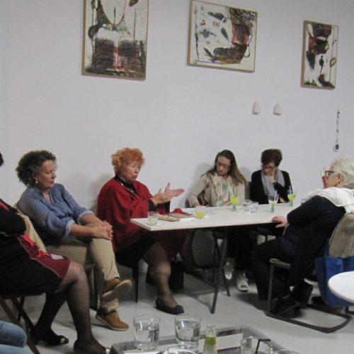Η συγγραφέας Νόρα Πυλόρωφ στη Βέροια,  ανοίγοντας το δρόμο για μια Νέα Λέσχη Ανάγνωσης