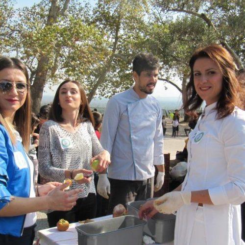 Παγκόσμια Ημέρα Διατροφής σε εορταστικό κλίμα στην Πλατεία Ελιάς