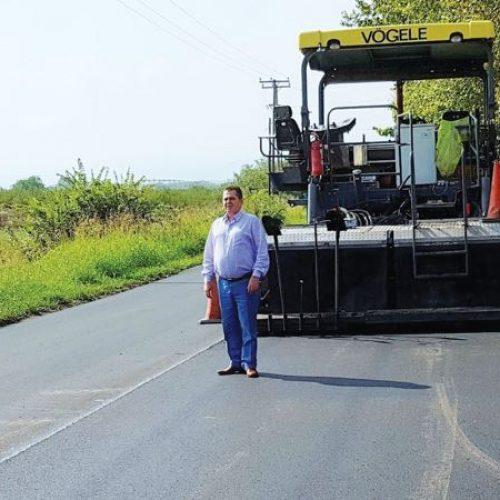 Π.Ε Ημαθίας: Υπεγράφη  σύμβαση  αποκατάστασης  οδοστρώματος  στη Μαρίνα προς Σκύδρα