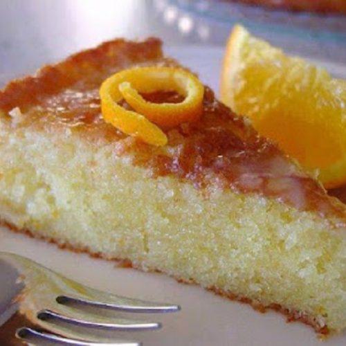 Κέικ  πορτοκαλόπιτα