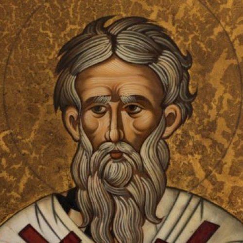 """""""Ο Άγιος   Διονύσιος ο Αρεοπαγίτης""""   δια χειρός Συμεών Ματσκάνη"""