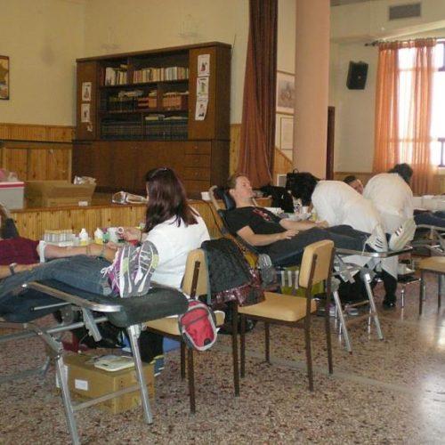"""Πραγματοποιήθηκε η Αιμοδοσία   της Δημοτικής Χορωδίας  Λιτοχώρου    """"Ιωάννης Σακελλαρίδης"""""""
