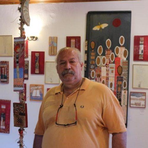 """Ο εικαστικός Αστέρης Γκέκας τον Δεκέμβριο στο Πολυκεντρικό Μουσείο των Αιγών με τα """"Αυτοκρατορικά Παλίμψηστα"""""""