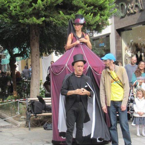 Veria Puppet στην Αγορά της πόλης. Χαρά για μικρούς και μεγάλους!