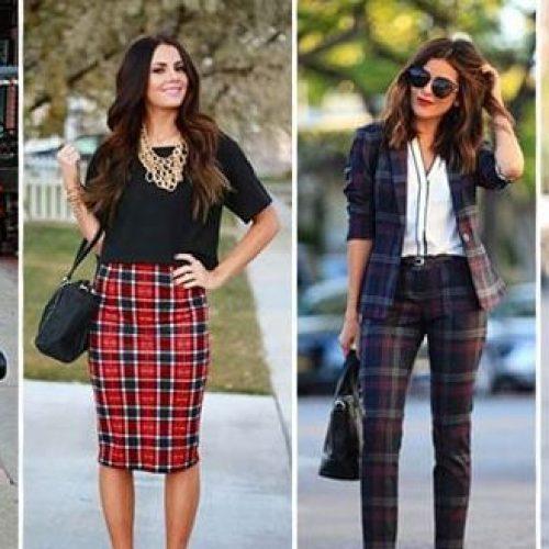 Μόδα 2019: Τάσεις -  40 τέλειοι συνδυασμοί ρούχων με καρό πουκάμισο, παντελόνι ή φούστα