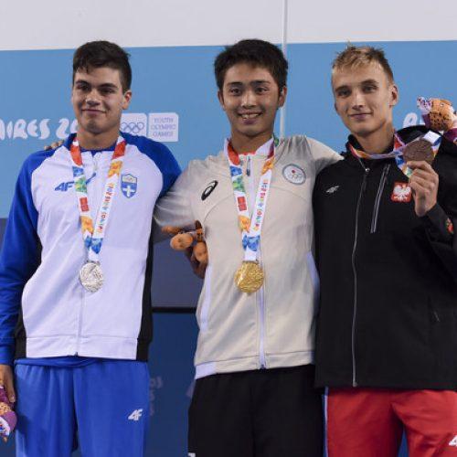 Αργυρό μετάλλιο ο βεροιώτης  Σάββας Θώμογλου στους Ολυμπιακούς Αγώνες Νέων στο Μπουένος Άϊρες