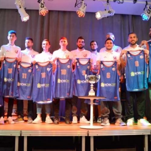 Η παρουσίαση της ομάδας μπάσκετ του Φιλίππου Βέροιας   2018-2019