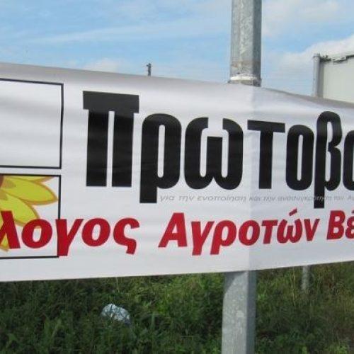 """Βολές του Αγροτικού Συλλόγου Βέροιας κατά του νέου Υπουργού αλλά και της  """"Ομοσπονδίας ροδακινοπαραγωγών"""""""