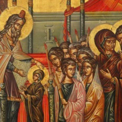 """""""Τα Εισόδια της Θεοτόκου"""" δια χειρός Συμεών Ματσκάνη"""