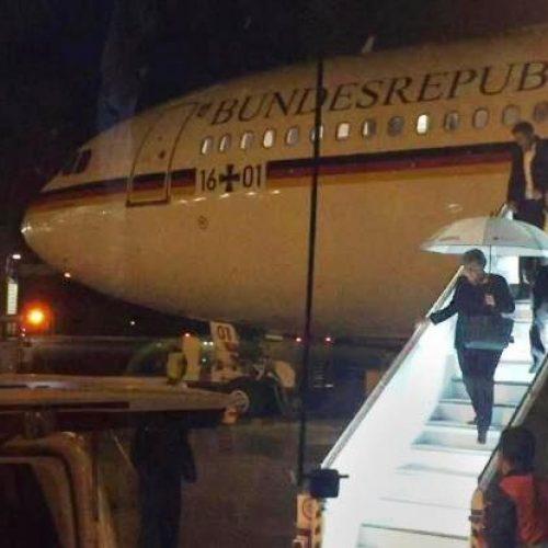 Πολύ σοβαρή βλάβη στο αεροσκάφος που μετέφερε την Μέρκελ στην Αργεντινή