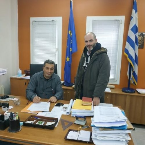1154f9aa23 Υπογραφή Σύμβασης έργου