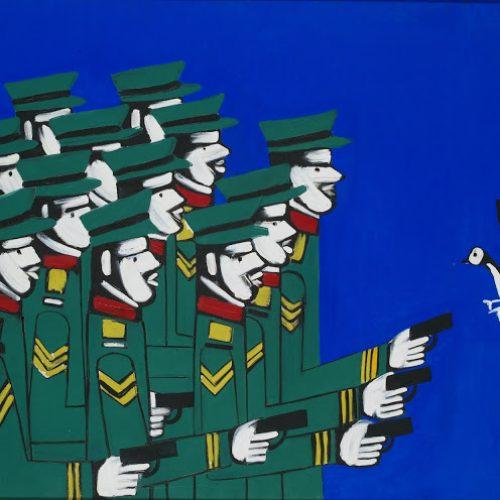 """""""Ένας κόσμος χωρίς πρόσωπα. Γιάννης Γαΐτης, ο τραγικά επίκαιρος εικαστικός!"""" γράφει η  Σοφία Σαββαΐδου"""