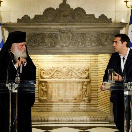 Η συμφωνία  Τσίπρα - Ιερώνυμου για περιουσία και κληρικούς