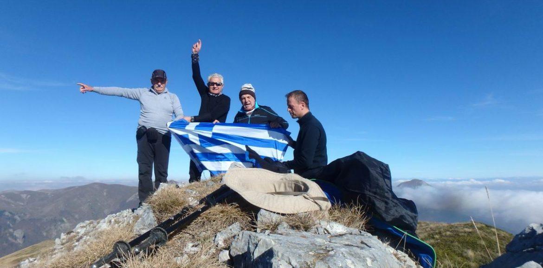 """Η ορειβατική ομάδα Βέροιας """"Τοτός"""" στον """"Καλόγερο"""" και """"Βίσογκραντ""""  του Πίνοβου"""